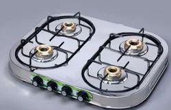 High Thermal Efficient LPG Stove 4 Burner