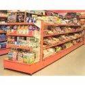 4 Shelves Supermarket Storage Rack