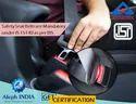 BIS Certification For Safety Belt And Safety Belt Reminder System