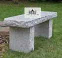Rough Granite Bench Without Back Rest
