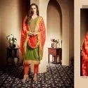Cotton With Banarasi Salwar  Suit