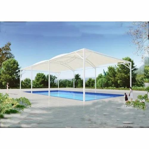 Free Standing Swimming Pool Tensile Membrane Structure