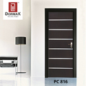 PC-816 Waterproof Premium Coated Decorative Wooden Door