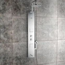 Pearl Steel Matte Shower Panel