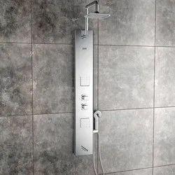Pearl Steel Matte Shower Panel
