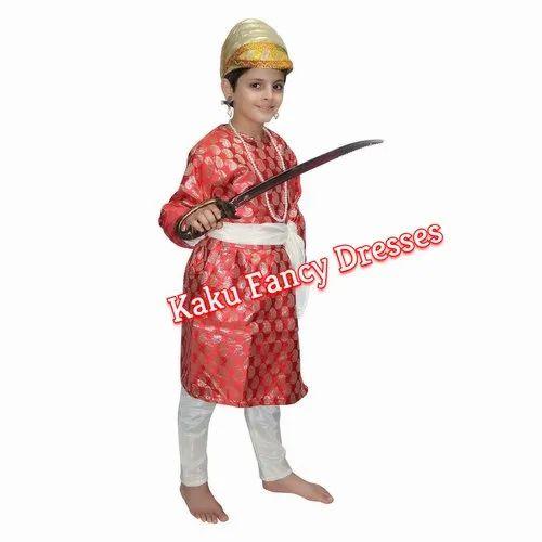 eac6e1458 Red Mix Cotton/Polyester Gujarati Boy Dress, Rs 600 /piece | ID ...