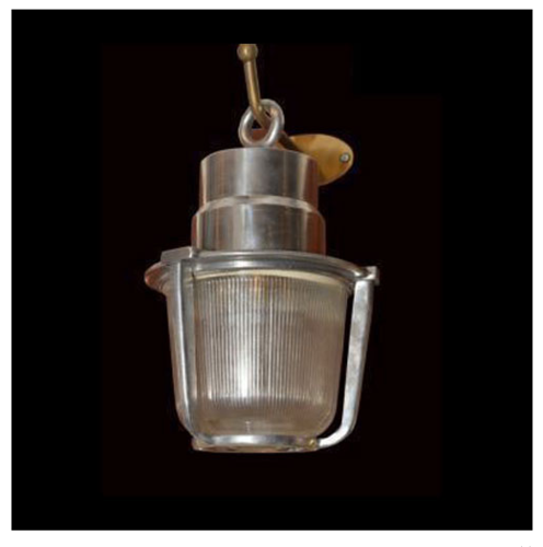 Collectors Corner Aluminium Ceiling Light, NA - 14