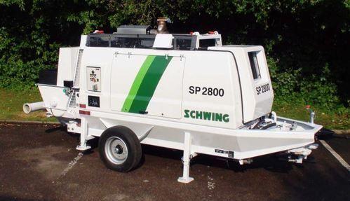 Schwing SP 2800 Portable Concrete Pump - Schwing Stetter