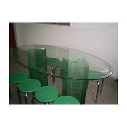 Table Bevelled Glass
