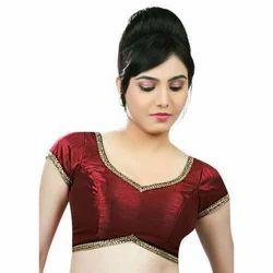 Silk Half Sleeve Fashion Blouse
