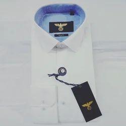 Royalchughs Men's Plain Formal Cotton Shirt, Size: S-XXXL
