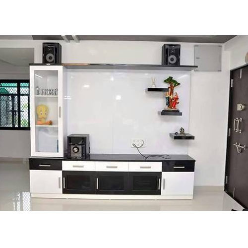 Living Room Cabinet Design In India: TV Unit, टीवी यूनिट At Rs 15000 /unit