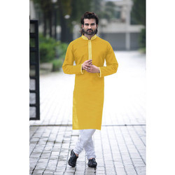 Cotton Kurta With Churidar