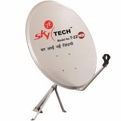 SkyTech Steel Satellite Dish Antenna Model No. T-22, Standard
