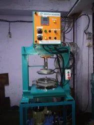 Hydraulic Single Die Thali Making Machine