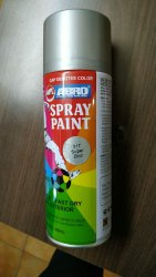 White ABRO SPRAY PAINT, For Metal