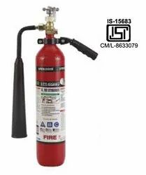 CO2 Portable And Wheeled Fire Extinguisher