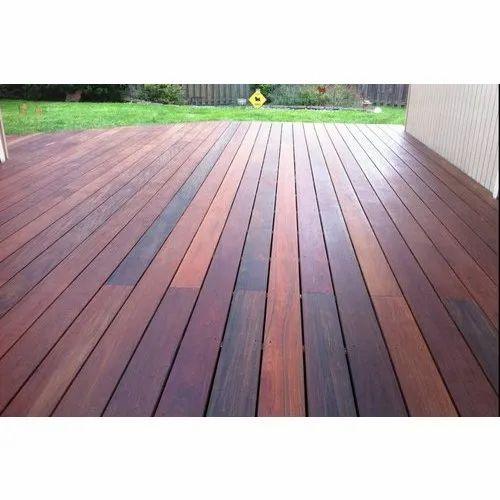 Brown Ipe Deck Flooring Rs 300 Square, Deck Laminate Flooring