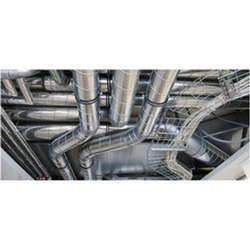 Silver Industrial Ducting