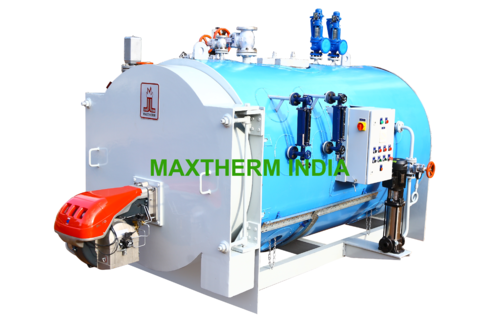 MAXTHERM INDIA CARBON STEEL Oil And Gas Fired Steam Boiler, MS ...