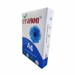 Plain 70 GSM Crayon A4 Printing Papers