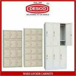 Mild Steel Ward Locker Cabinets for Hospital