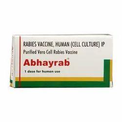 Rabies Vaccine, Human (2.5iu) Abhayrab Injection, Prescription, Treatment: Prevention Of Rabies