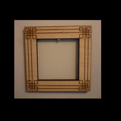 Leather Picture Frames with Laser Design