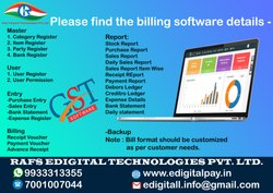 Online/Cloud-based GST Billing Software, For Windows