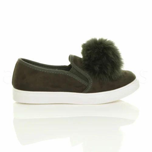 7162e4acf53ece Women Flat Ladies Sneaker Shoes