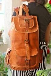 Leather Backpack, Backpack, Travel Backpack, Shoulder Backpack, Handmade, Vintage, Bag