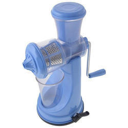 Blue Fruit & Vegetable Manual Juicer