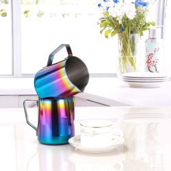 Steel Milk Frothing Pitcher