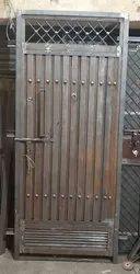 Iron Door With Frame