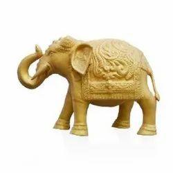 4431 Golden Metal Elephant