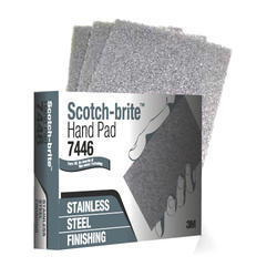 3m 7446 SS Finishing Hand Pads