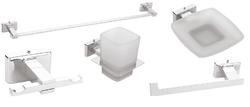 Zolon Stainless Steel,Abs ZH-202-206 Bathroom Accessories Set