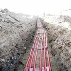 Cable Laying Work