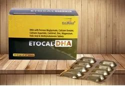 DHA,Ferrous Bisglycinate,Cal. Orotate,Cal. Aspartate,Calcitriol,Zinc,Mg,Folic Acid & Methylcobalamin
