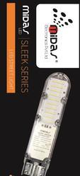 Midas 'Eco Sleek' Lens Based LED Street Light - 30W