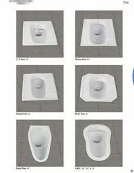 Ceramic Water Closet With And Without Llc Or Cistern