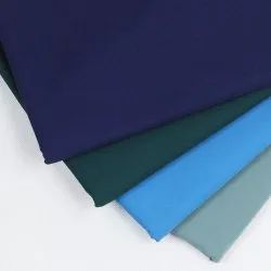 Plain 58 Cotton Polyester Fabric, Packaging Type: Roll, GSM: 120-180 GSM