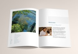 Basic Business Site Graphics And Images Industrial Brochure, In India