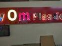 3D Letter Sign Board