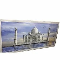 Rectangular 10 Mm Ceramic Photo Tile, For Wall, Size: 60x120cm