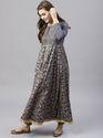 Printed Anarkali Dress