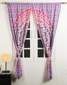 Mandala Window Door Curtains