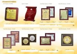 Wooden Trophies And Plaques