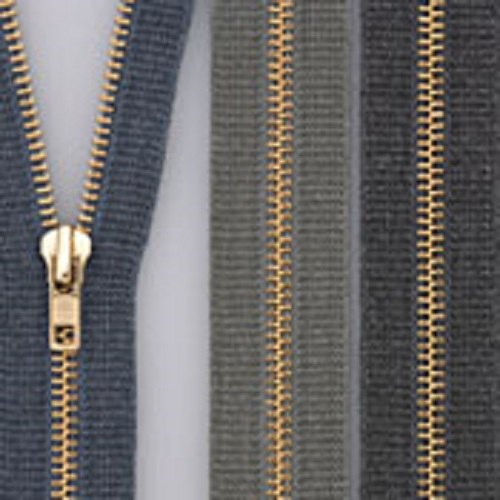 YKK Long Chain Brass  Zipper