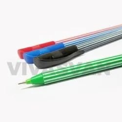 Plastic Ballpoint Pens / Direct Fill Ball Pens (Use & Throw )